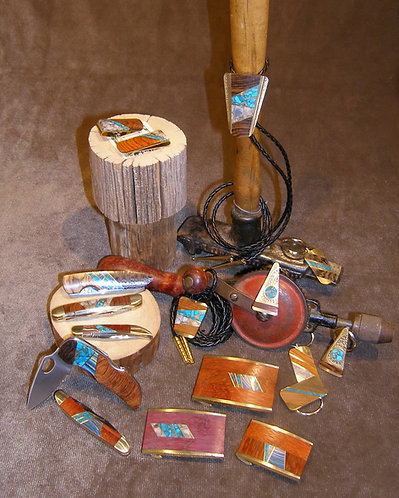 Selection of Buckles and Knives