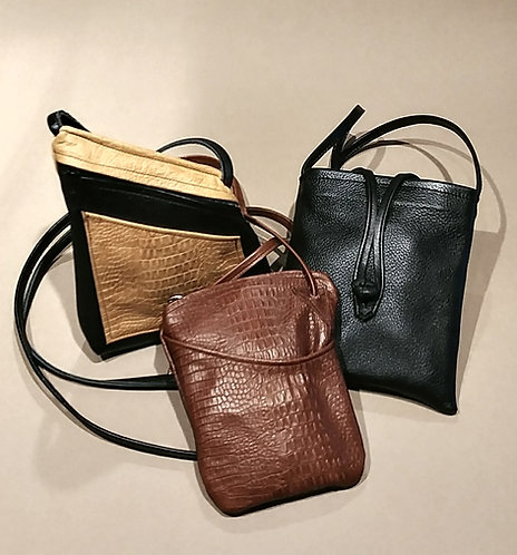 Cross-body Leather bags