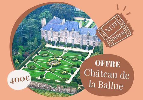 Séjour exclusif au château de la Ballue, Bretagne
