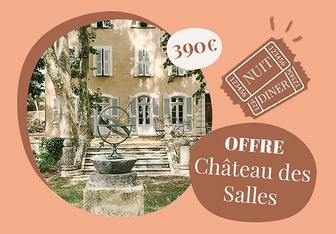 Séjour exclusif au château des Salles, Draguignan