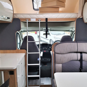 Over cab king size bed