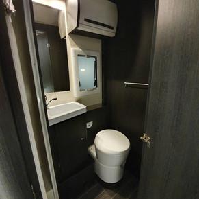 Zefiro 690 - 6 Berth Pet Friendly Van - Toilet & Sink