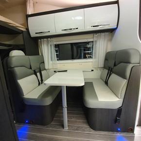 Zefiro 690 - 6 Berth Pet Friendly Van - Seating Area