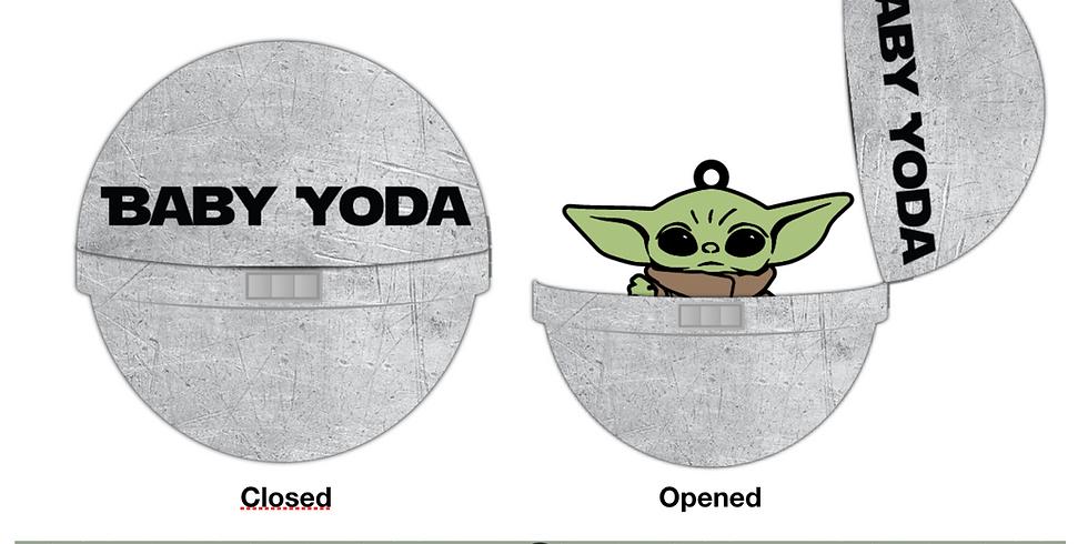 Baby Yoda Virtual Race