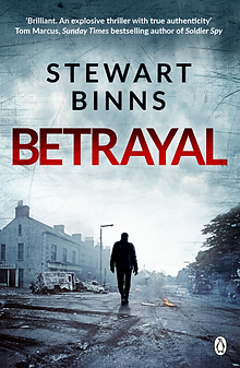 Stewart Binns latest book, Betrayal