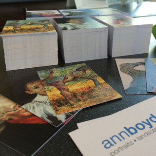 Local Artist Business Cards