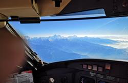 טיסה מעל אנפורנה