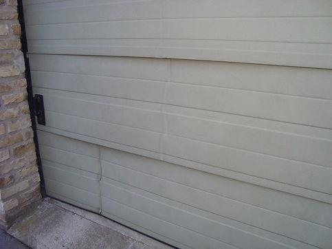 vervangen panelen sectionaalpoort