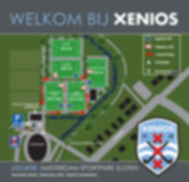 plattegrond sportpark sloten maatregelen