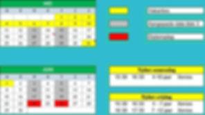 Aangepaste kalender en tijden Xenios 202