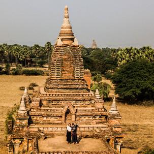 Mavic over Bagan.