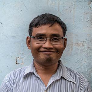 Phalla, Cambodia Child & Hope Association headmaster.
