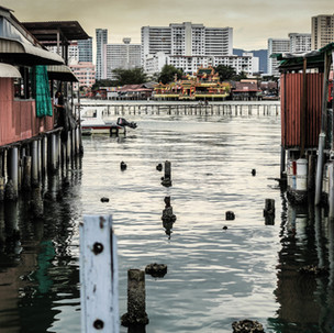 Jetties of Penang.