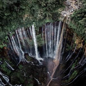 Tumpak Sewu Waterfall.
