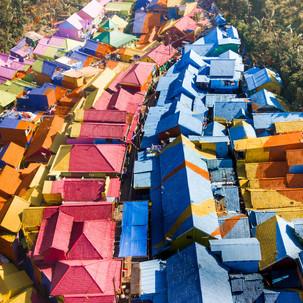 Roof colors.
