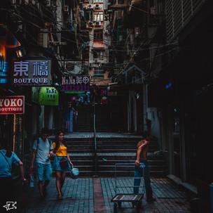Busy Macau.