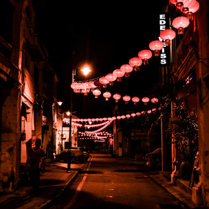 Typical asian night decoration.