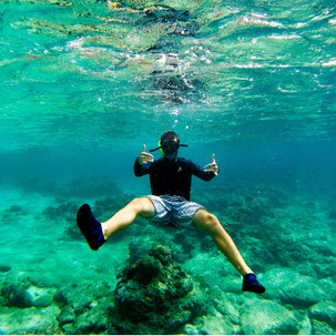 Snorkeling is a must in the Philippines!