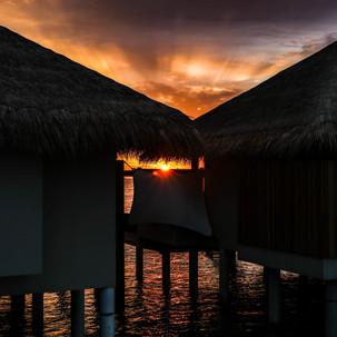 Hidden sunset.
