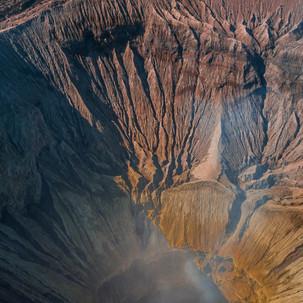 Bromo crater.