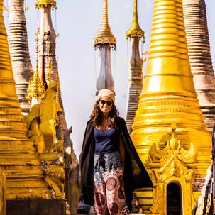 Lost in Shwe Inn Tain Pagoda.