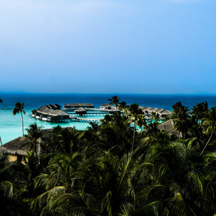 Maldives high view.