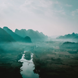 Yanshuo, the land of fog.