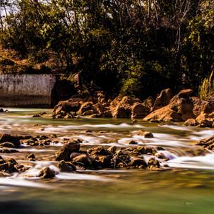 Waterfall daily long exposure photo.