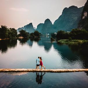 Yulong River.