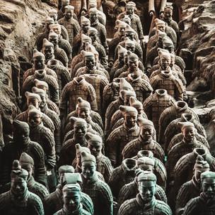 Famous Terracotta Warriors.