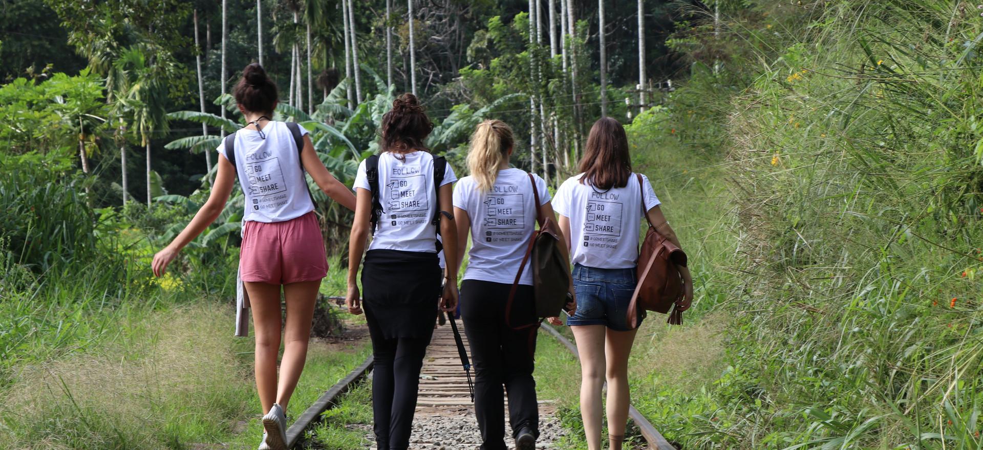 Way to Ella Rock, Sri Lanka
