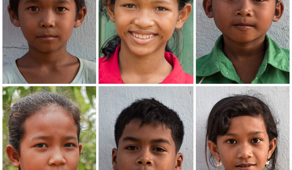 Poverty among children. Six similar real stories