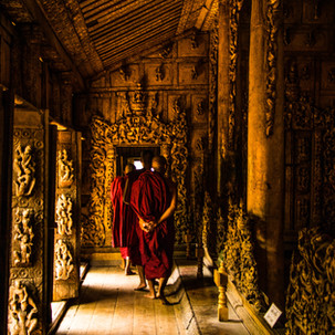 Monks and Monastery.