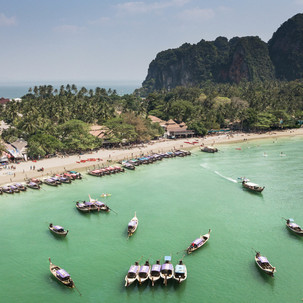 Railay beach.