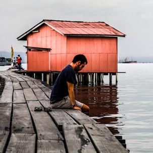 Jetties of Penang.