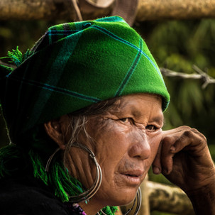 Hmong woman, from the northern tribes.