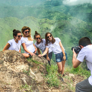 Thanks to @nunoairesdias for the photo at the top of Ella Rock, with our customized t-shirts our friends brought us.