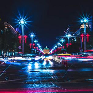 Xi'An by night.