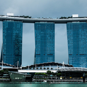 Iconic Marina Bay Sands.