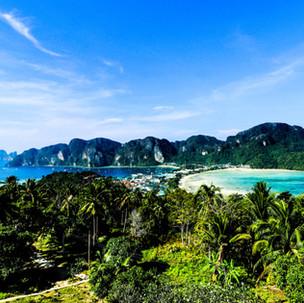 Phi Phi Island magic View Point.