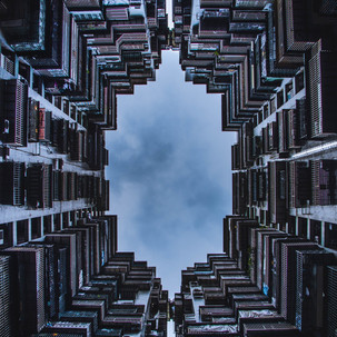 Macau and its buildings.