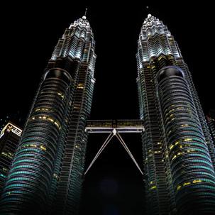 Petronas by night.