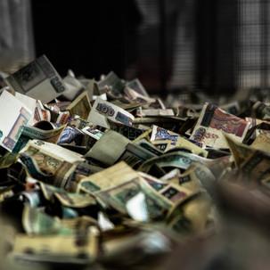 Money offerings.