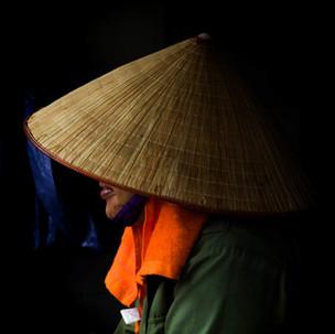 Vietnamese hats.