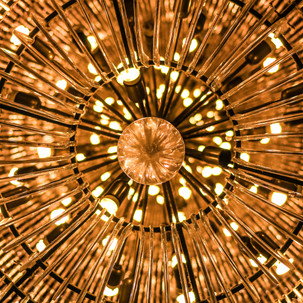 See inside a luminaire.
