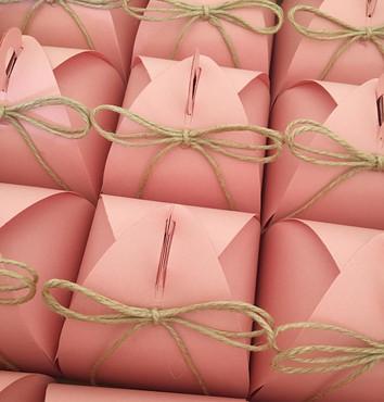 Caixinha envelope com rami