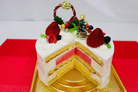 2020ホワイトケーキ断面