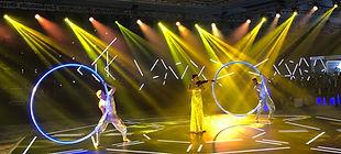 LED cyrwheel & violin 01 - Hands Kiosk E