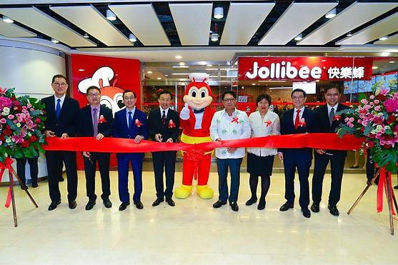 Jollibee Macau Grand Opening 01- Hands K