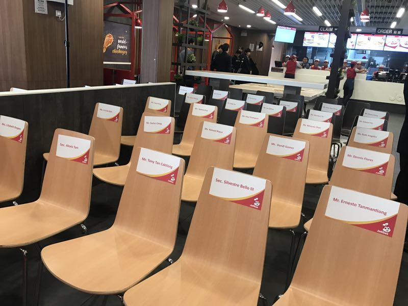 VVIPs seats